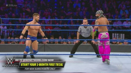 The Singh Brothers vs. Justin Alexander & Justin Morris: WWE 205 Live, Oct. 18, 2019