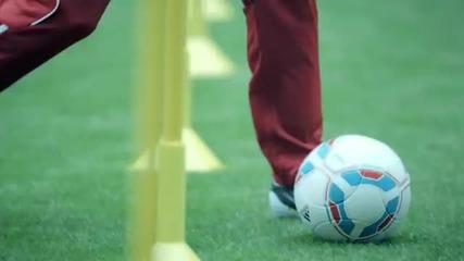 Robben vs. Robben adidas F50 adizero micoach ad