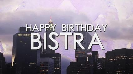 '' Happy Birthday Bistra '' - collab