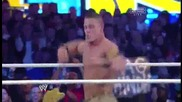 Wrestlemania 29 The Rock vs John Cena