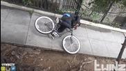 Велосипед с вграден електрошок - Шега