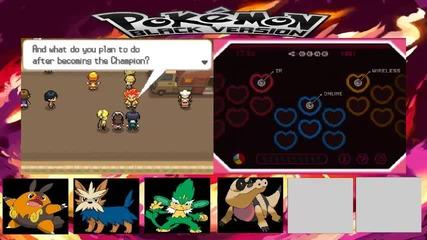 Pokemon Black Walktrought Part 19 - Побеждавам Елеса и вървя нататък