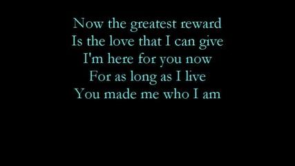 [ Превод ] Celine Dion - The Greatest Reward
