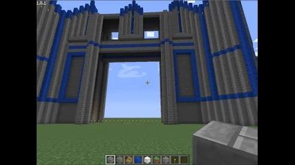 Minecraft - замък (част 1)