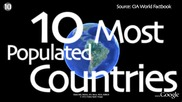10-те най-населени страни