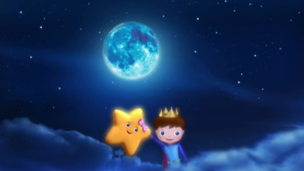 Twinkle Twinkle Little Star Nursery Rhymes The Prince And The Star from Littlebabybum