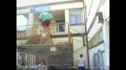Parkour Went Wrong!