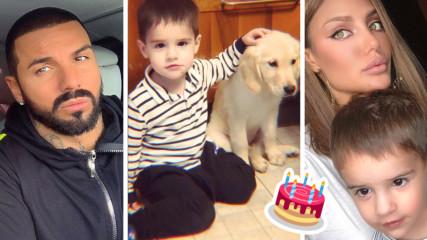 Малкият син на Джизъса навърши 3 годинки, но не него нарича ''татко''