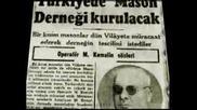 Ататюрк Закрива Масонските Ложи