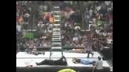 Wwf Summerslam Острието и Кристчан срещу отбор 3d срещу братята Харди Tlc мач Tag Team Championships