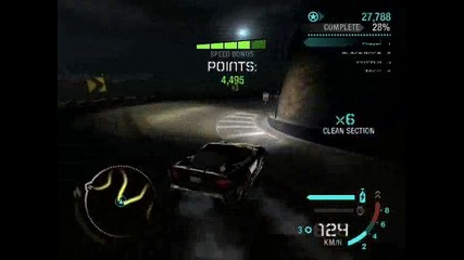 Need For Speed Carbon Awesome Drift
