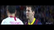 Най-доброто от Лионел Меси срещу Севилия (14.09.2013)