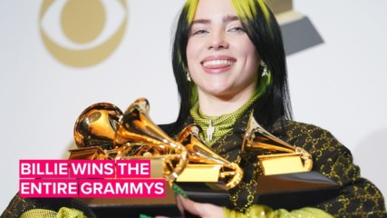 All the ways Billie Eilish made history at the Grammys