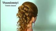 Вечерна прическа за дълга коса