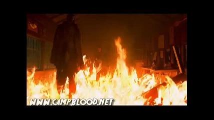 Удължена бойна сцена от филма Фреди срещу Джейсън (2003)