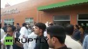 Pakistan: Earthquake victims taken to Peshawar hospital
