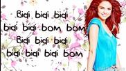 Selena Gomez - Bidi Bidi Bom Bom (lyrics)