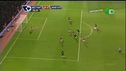 Westham - Manutd 0:3 - гол на Валенсия