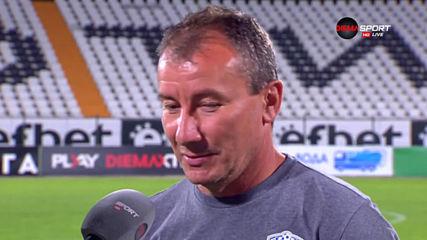 Белчев: Трябва да подобряваме играта