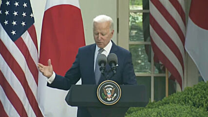 USA: Biden and Japanese PM share commitment to addressing 'challenges from China'