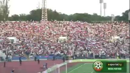 40 000 човека пеят химна на България