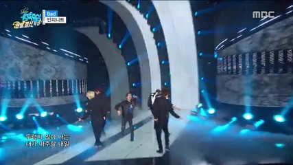 151226 Infinite - Bad @ Mbc Music Core Goodbye 2015
