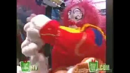 Дяволски клоун - Скрита камера