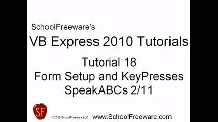Microsoft Visual Basic 2010 Express { Видео18 }