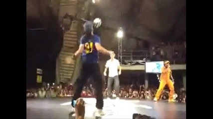 Neymar vs Arnaud Garnier - Freestyle battle