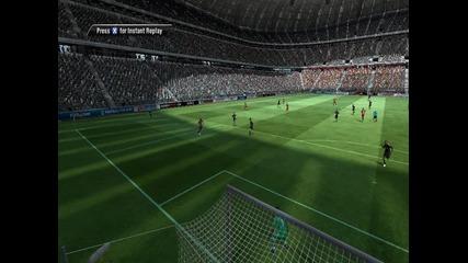 първият ми гол с Байерн М на Fifa 11