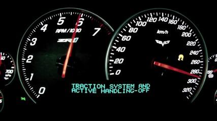 Corvette Zr1 0-330 kmh