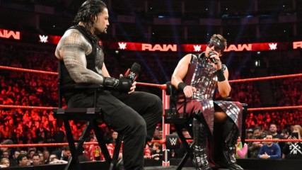 """Roman Reigns brings out The Miz's fire on """"Miz TV"""": Raw, May 13, 2019"""
