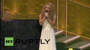 USA: Shakira joins calls on world leaders to eradicate child poverty