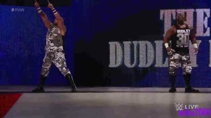 The Dudley Boyz се завръщат в Първична сила: Wwe Първична сила 24.08.2015