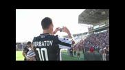 Представянето на Димитър Бербатов като играч на Паок