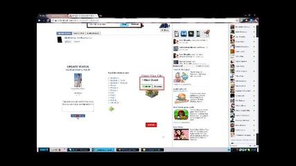 Как се слагат емотикони в фейсбук статуса ви!