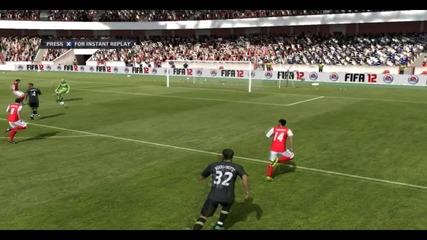 Fifa 12 - страхотен гол с Уолкът