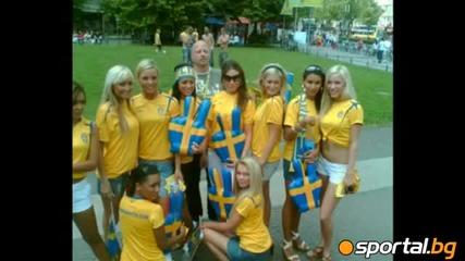 Най-красивите фенки на Евро 2012