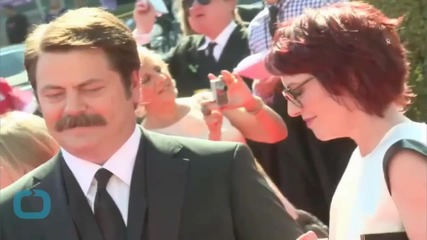 Nick Offerman and Megan Mullally Axe Tour Stop in Indiana