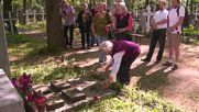 Germany: Die Linke supporters commemorate WWII victims in Berlin's Russian cemetery