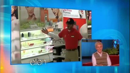 Дейвид Бекъм под прикритие в шоуто на Ellen