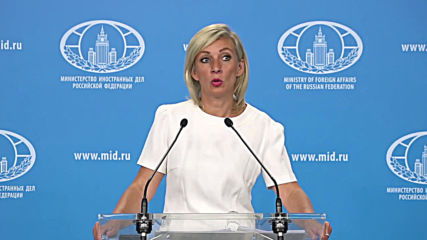 Russia: Zakharova calls alleged denial of visas to US teachers 'fake' and 'shameless lie'
