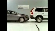 Crash Test: Volvo S40 Vs Xc90