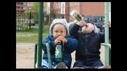 Текст Мишо Шамара Ft. Бенджамини - Бяхме Деца ( Кристален Звук)