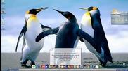Как да сложите аеро в таскбара (windows xp)