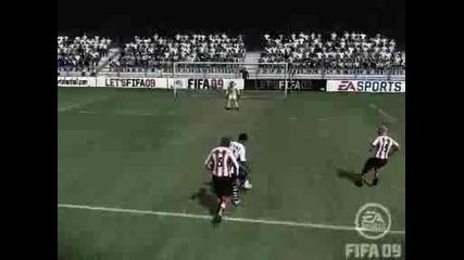 Fifa 09 - Смешен Гол