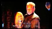 Диво Blu- Ray меню с удължената версия на Плевела в Х- Мен: Дни на Отминалото Бъдеще (2014)
