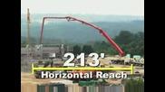 Най - голямата бетон помпа в света - Putzmeister 70 Z