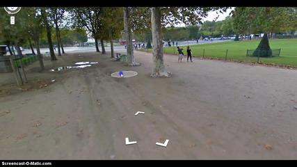 Една виртуална разходка из Париж