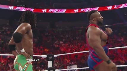 Big E & Kofi Kingston vs. Rybaxel: Raw, July 21, 2014